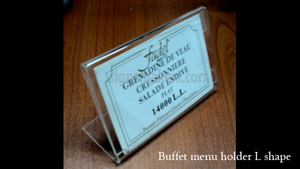 buffet id1 signs makers lebanon rh signsmakers com buffet food name tags buffet name tags cards